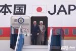 Những hình ảnh đầu tiên Nhà vua và Hoàng hậu Nhật Bản đến Hà Nội