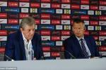HLV tuyển Anh buồn thảm đến dự buổi họp báo cuối cùng