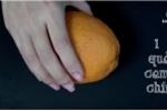 Cách làm thạch cam phô mai thơm ngon ngây ngất
