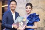 MC Phan Anh tới chúc mừng Phạm Thu Hà ra album nhạc Phạm Duy
