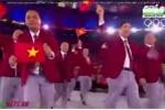 Quốc kỳ Việt Nam tung bay ở lễ khai mạc Olympic 2016