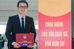 Phó giáo sư trẻ nhất Việt Nam 2016 lọt top 20 gương mặt trẻ Việt Nam tiêu biểu