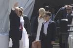 Triều Tiên phóng tên lửa, ông Trump và gia đình thoải mái đi nhà thờ nghỉ lễ