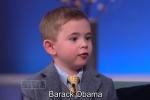 Cậu bé 4 tuổi tiết lộ bí mật các tổng thống Mỹ khiến triệu khán giả thán phục