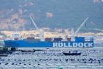 Cận cảnh tàu vận chuyển tàu ngầm 187 Bà Rịa - Vũng Tàu