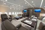 'Phù phép' nội thất máy bay thành căn hộ siêu sang trên trời