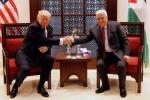 Tổng thống Trump gặp lãnh đạo Palestine, tìm kiếm hòa bình