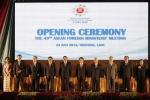 Quá trình đến tuyên tuyên bố chung của các Ngoại trưởng ASEAN tại Lào