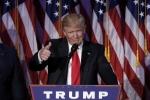 Donald Trump được bầu là Tổng thống mới của Mỹ