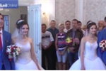 Đám cưới hy hữu: 2 anh em sinh đôi lấy 2 chị em sinh đôi