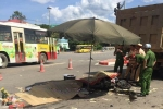 Xác minh danh tính 3 nạn nhân bị xe tải cán chết ở Xuân Mai, Hà Nội