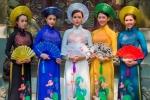 Dàn hot girl Việt khoe dáng trong tà áo dài khiến vạn người mê