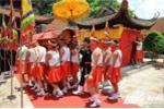 Độc đáo nghi lễ mộc dục tại hội Đình Chèm
