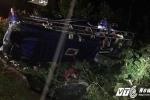 Lật xe khách thảm khốc ở Quảng Nam: Xác định danh tính 16 nạn nhân