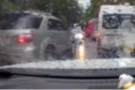 Ôtô ngang nhiên chạy ngược chiều gặp CSGT và cái kết 'đắng'