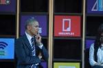 Clip: Tổng thống Obama nói chuyện với doanh nghiệp Việt