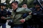 Video: Bạo loạn nghiêm trọng ở Hồng Kông ngày mùng 2 Tết