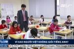Vì sao người Việt không giỏi tiếng Anh?