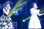 Hồ Quỳnh Hương song ca với Hari Won khiến khán giả thích thú