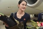 Dàn tiếp viên hàng không xinh đẹp Triều Tiên trong ngày mở đường bay quốc tế