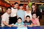 Tình mới Dương Mỹ Linh vui vẻ hội ngộ vợ cũ Bằng Kiều