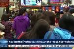 Người Hà Nội xếp hàng dài chờ mua vàng ngày vía Thần Tài