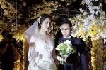 Á hậu Hoàng Anh lộng lẫy bên chồng điển trai trong lễ cưới