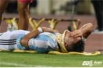 Báo Argentina: Va chạm với Đình Khương, Javier Martinez chấn thương nặng
