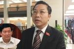 Đại biểu Quốc hội: 'Thứ trưởng Huỳnh Vĩnh Ái phải rút kinh nghiệm'