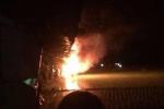 Xác định danh tính chủ xe bị đốt vì nghi thôi miên bắt cóc trẻ em ở Hải Dương