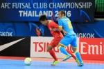 Sanna Khánh Hòa là minh chứng cho sự phát triển futsal châu Á
