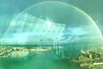 Cầu vồng hình tròn cực hiếm xuất hiện tuyệt đẹp trên bầu trời Anh
