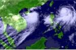 Áp thấp nhiệt đới đổ bộ Biển Đông
