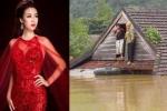 Bị thắc mắc về số tiền quyên góp ủng hộ miền Trung, hoa hậu Đỗ Mỹ Linh lên tiếng