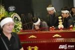 Gia đình khóc ngất bên linh cữu nghệ sĩ Phạm Bằng