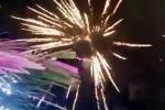 Đám cưới con gái đại gia ở Cà Mau bắn pháo hoa trái phép