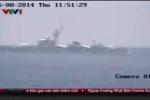 Clip: Tàu tuần tiễu, tàu hộ vệ tên lửa TQ xuất hiện tại khu vực giàn khoan