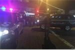 Cảnh sát Australia bắt giữ người đàn ông lao xe đang cháy vào đồn