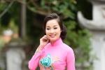 Minh Hương 'Nhật ký Vàng Anh' đằm thắm với áo dài truyền thống