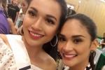 Lệ Hằng được khán giả Việt khen ngợi sau sự cố catwalk tại Miss Universe