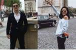 Hoa hậu Kỳ Duyên xinh đẹp dạo chơi Paris cùng bạn trai đại gia