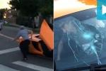'Trẻ trâu' đập vỡ kính siêu xe McLaren hơn 5,5 tỷ rồi bỏ chạy