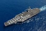 Uy lực vượt trội của tàu sân bay Mỹ mới đến Biển Đông