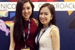 Hai cô gái xinh đẹp giới thiệu mô hình khởi nghiệp của Việt Nam ra thế giới