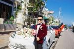 Doanh nhân Quảng Ninh tiếp tục gây sốt với dàn xe sang ngày cưới