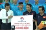 Văn hóa, thể thao, du lịch trong tuần: Trao 400 triệu cho đội tuyển U15 Việt Nam