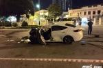 Vừa tổ chức sinh nhật, nam thanh niên tông xe vào bùng binh chết thảm