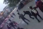 Điều tra hai nhóm thanh niên truy sát nhau trên phố Hà Nội