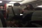 Nữ hành khách la hét, gây gổ trên máy bay Vietjet Air gây phẫn nộ