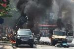 Taxi nổ như bom giữa TP Cẩm Phả, 2 người chết tại chỗ